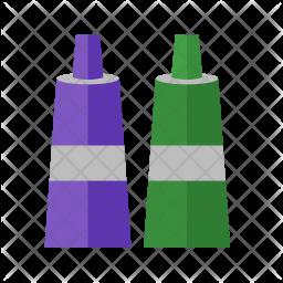 Paint tubes Icon