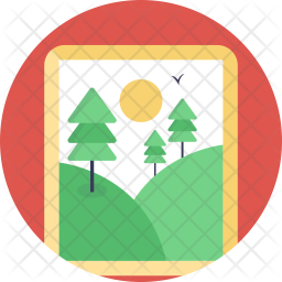 Painting Flat Icon