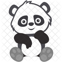 Panda Icon Of Flat Style Available In Svg Png Eps Ai Icon Fonts