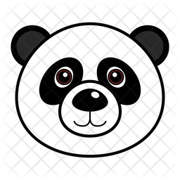 Panda Icon Of Colored Outline Style Available In Svg Png Eps Ai Icon Fonts