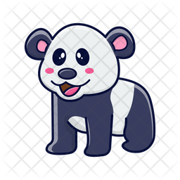 Panda Icon Of Sticker Style Available In Svg Png Eps Ai Icon Fonts