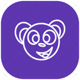 Panda, Panda-animals, Antivirus, Expression Icon