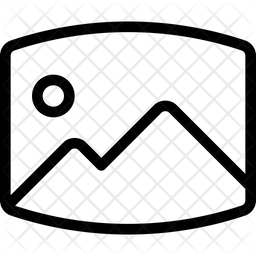 Panorama Photo Convex Icon