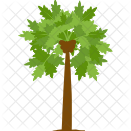 Papaya Tree Icon