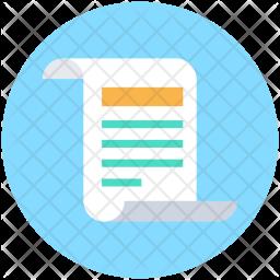 Paper Flat Icon