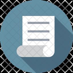 Paper script Icon