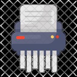 Paper Shredder Flat Icon