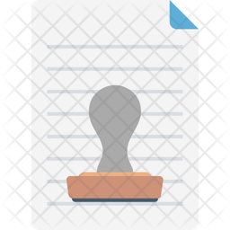 Paper Stamp Icon