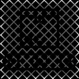 Parcel Conveyor Icon