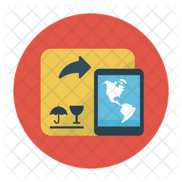 Parcel Delivery Tracking Icon