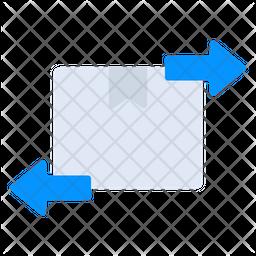Parcel Import Flat Icon