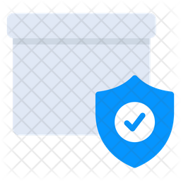 Parcel Security Flat Icon