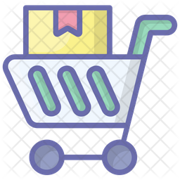 Parcel Trolley Icon