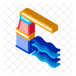 Parcels Isometric Icon