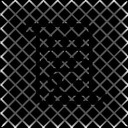 Parchment Line Icon