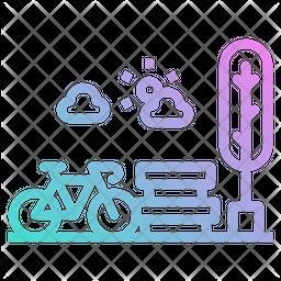 Park Gradient Icon