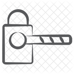 Parking Barrier Icon