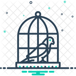 Parrot Cage Icon