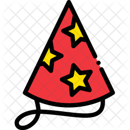 Party, Hat, Star, Carckers, Rocket, Celebration, Holiday Icon png