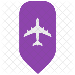 Passenger, Airbus, Fly, Map, Pointer Icon png