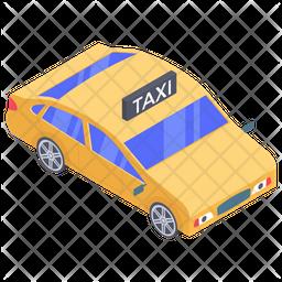 Passenger Taxi Service Icon