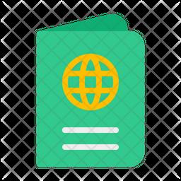 Passport Flat Icon