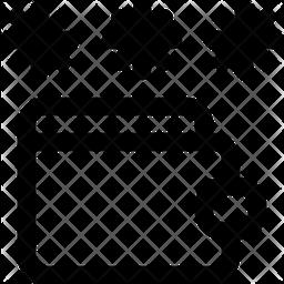 Password lock Line Icon