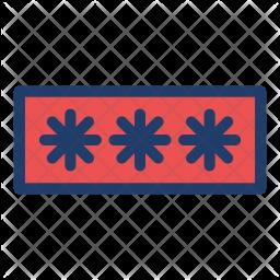 Password Protection Logo Icon