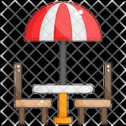 Patio Furniture Icon