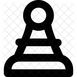 Pawn Line Icon