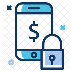 Mobile Secure Payment Icon