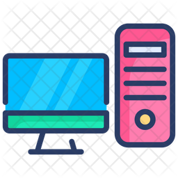 Pc Icon Of Colored Outline Style Available In Svg Png Eps Ai Icon Fonts