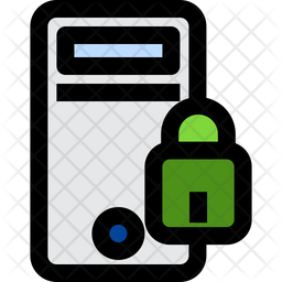 Pc Colored Outline Icon