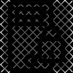 Pc Line Icon