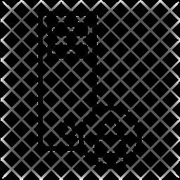Pc Lock Line Icon