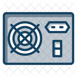 Pc Power Supply Icon