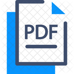 Pdf Icon Of Colored Outline Style Available In Svg Png Eps Ai Icon Fonts