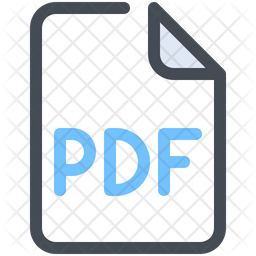 Pdf File Icon Of Colored Outline Style Available In Svg Png Eps Ai Icon Fonts