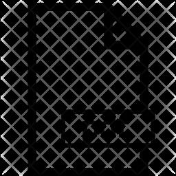 Pdf format Icon