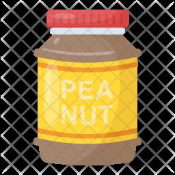Peanut Jar Icon