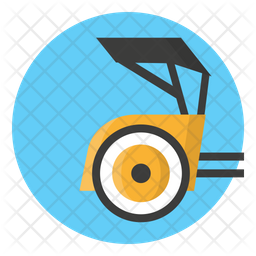 Pedicab Flat Icon