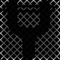 Peeler Glyph Icon