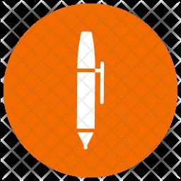 Pen Glyph Icon