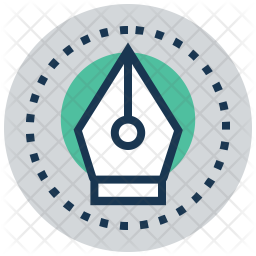 Pen Tool Icon Of Colored Outline Style Available In Svg Png Eps Ai Icon Fonts