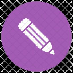 Pencil Glyph Icon