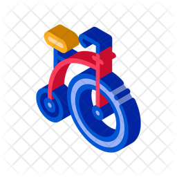 Penny Farthing Cycle Icon