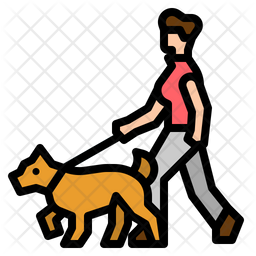 People Colored Outline Icon