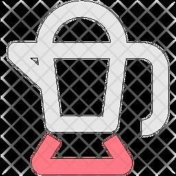 Percolator Line Icon