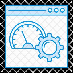 Performance optimization Icon
