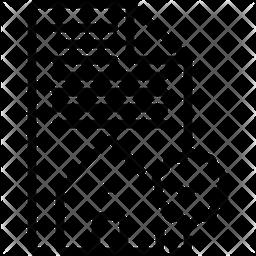 Permit Line Icon